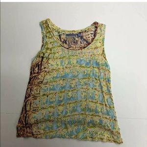 Vera Wang Colorful Tank Top Cami Size Petite XS